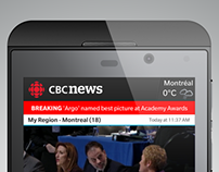 CBC News for BlackBerry 10