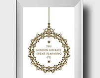 The Golden Lockett Event Planning Company Logo