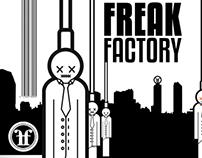 """Freak Factory"" Vinyl Album + Inlay"