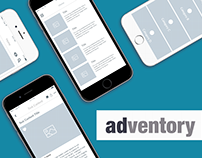 Adventory IOS mobile application