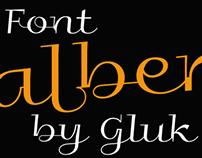 Free font Galberik