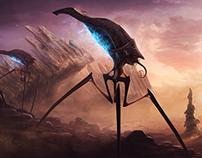 Alien Planet concept