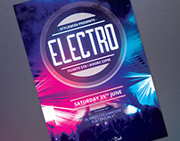 Electro Flyer Template