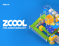 Zcool 11th Anniversary