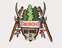 Bosch Brewing Company Logo and Branding