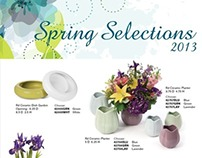 Spring Selections 2013 Catalog