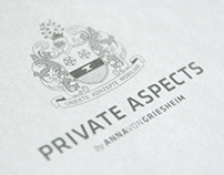 Private Aspects Logo & Print Design