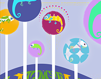 Karma Chameleon - App for kids