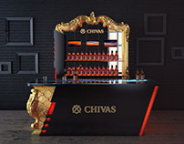 Bar design for Chivas