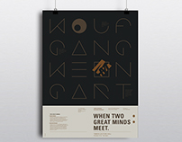 Poster | When two great minds meet