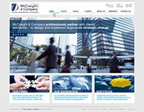 McCreight & Company - web design