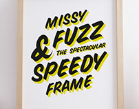 MissyFuzz & Speedy Frame :: Lettering