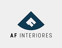 AF Interiores - Logo Desing