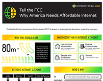 Infographic Design for Internet For All Now Campaign