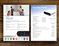 Touchjet Marketing items