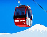 Niseko Ski Resort Poster