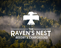 The Raven's Nest Resort Branding