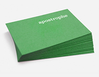 Apostrophe Branding