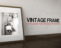 Vintage Frame After Effects Template