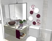 PROJETO: banheiro social