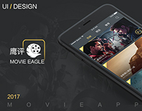 Movie Eagle App Design