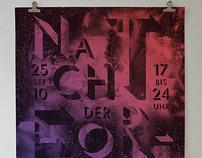 """Posterproposal for """"Nacht der Forschung"""""""