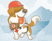 Character design for the Costa Rican Red Cross