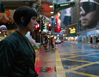 Ghost In The Shell - Motion Graphics & Concept Art