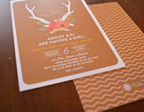 Oh, deer! Baby Shower Invitation