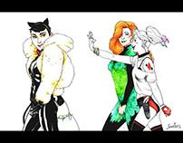 Gotham City Sirens - Fanart
