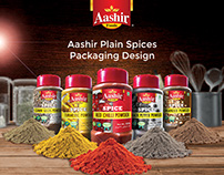 Aashir Plain spices packaging