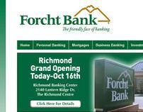 Bank Website Development