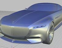 Alias & Vred -Mercedes-Benz Vision Maybach 6 concept
