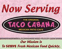 Taco Cabana Career Fair Banner