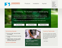 Sonnenberg Landscaping Website Development