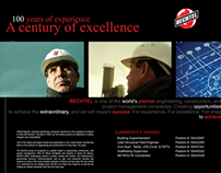 Bechtel - 100 Years of Experience Recruitment Ad