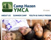 Camp Hazen YMCA Website Development