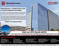 WorleyParsons OTC Recruitment Ad