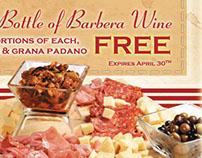 Mandola's Italian Wine and Cheese Feature