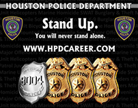 Houston Police Department Career Booth