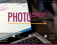 Photoshop Bootcamp Website