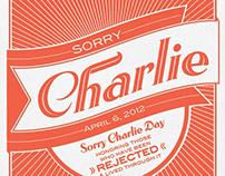 Sorry Charlie
