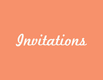 Invitations (misc.)
