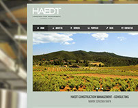 Branding for Haedt Construction Management