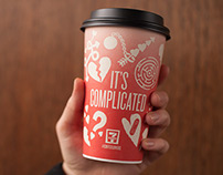 7-Eleven Valentine's Day Coffee Cups