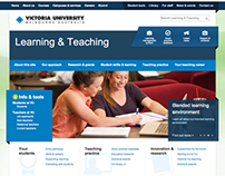 Victoria University's Learning & Teaching website