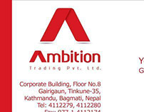 Ambition Trading Stationary Design