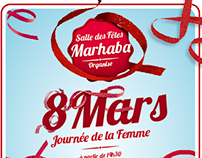 8 Mars Womens Day Flyer