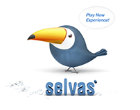 Selvas Logo Title