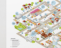 Infografik zum Thema Verkehrslärm
